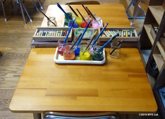 絵描き用の机