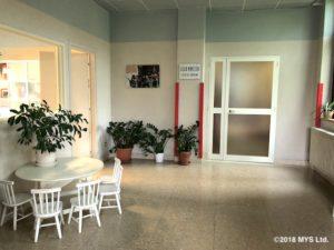 イタリアこどもの家の廊下