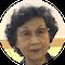 天野珠子先生の顔
