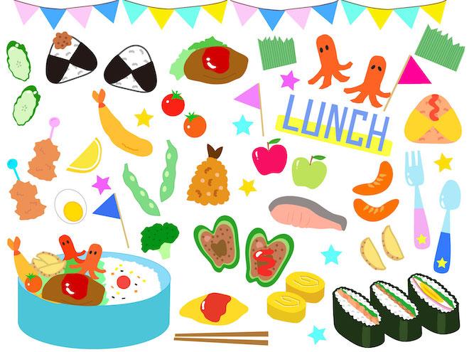 楽しい昼食のイメージ
