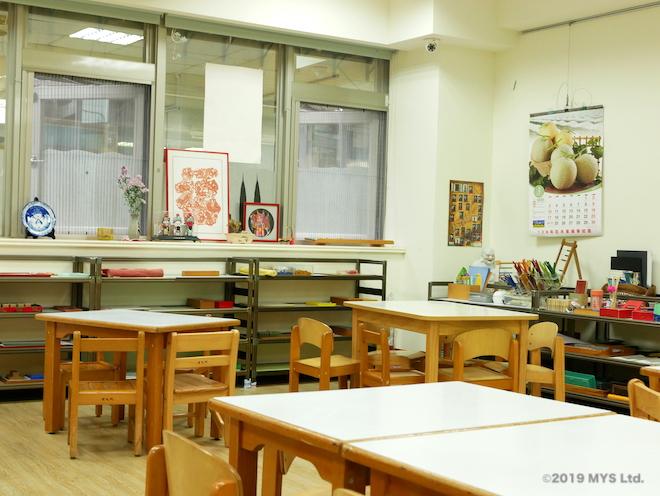 モンテッソーリ童円の3-6歳クラスの様子