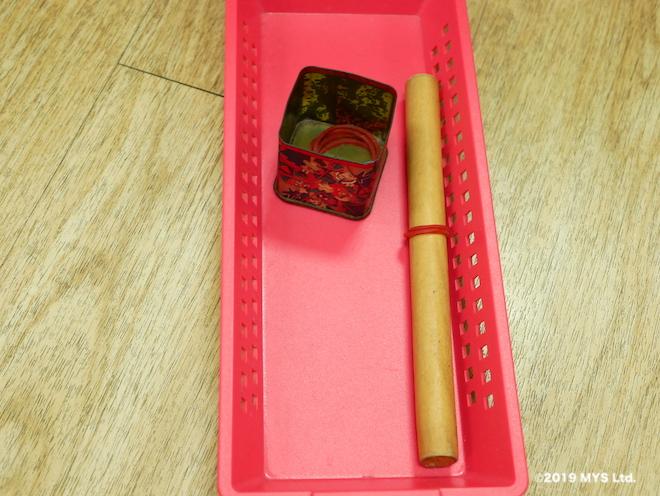 モンテッソーリ童円の輪ゴムどめ練習セット