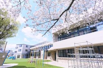 桜とちとせ学院の建物