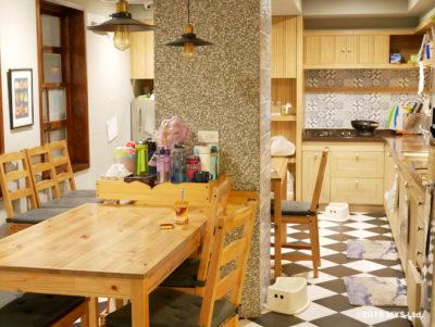 Taipei Utopia Montessori Elementary School のキッチンのテーブル