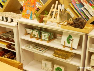 Taipei Utopia Montessori Elementary School の植物学の棚