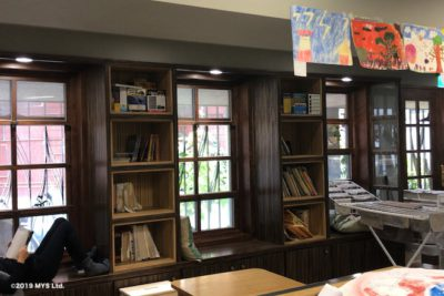 Taipei Utopia Montessori Elementary School の図書館