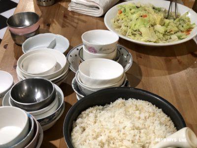 モンテッソーリ小学校で子どもが作った料理