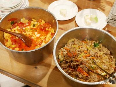 モンテッソーリ小学校で子どもが用意した料理